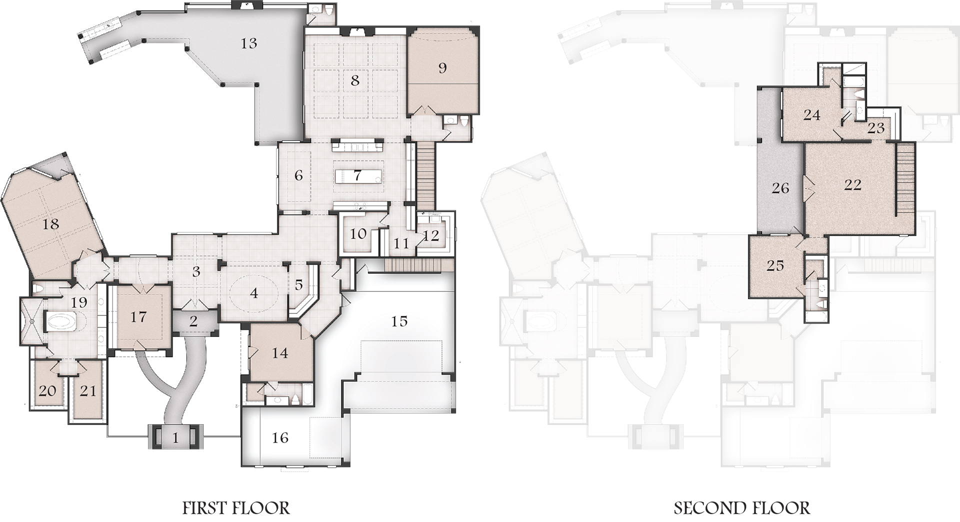 Shadow Creek Lot 51 Floor Plans